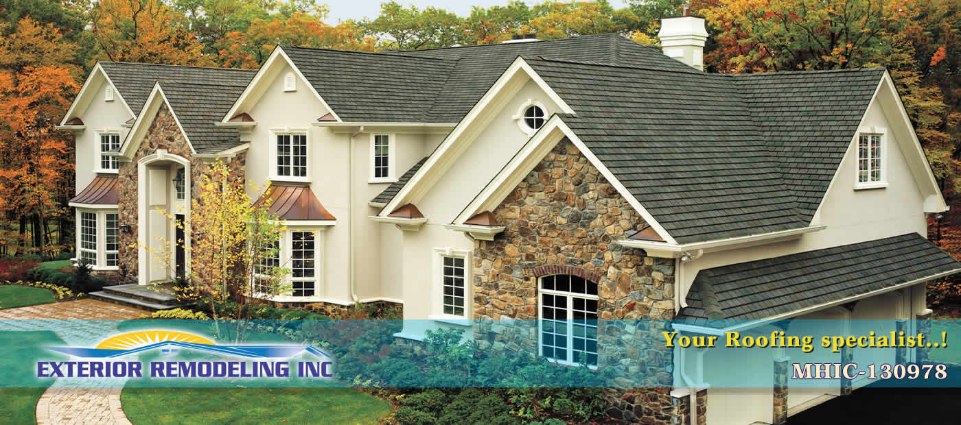 exterior home remodeling contractors in maryland and northern virginia